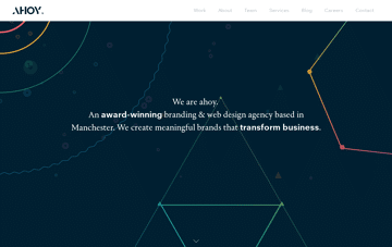 AHOY Web Design & Branding Agency Web Design