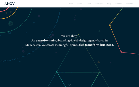 AHOY Web Design & Branding Agency Web Design