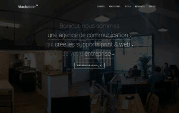 Blackpaper Web Design