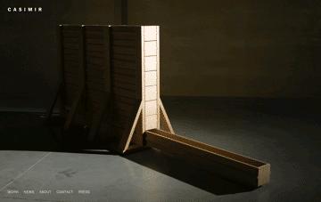 Casimir Furnituremaker     Web Design