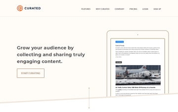 Curated Web Design