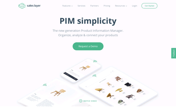 Sales Layer Web Design