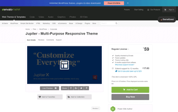 Jupiter Wordpress Theme Web Design