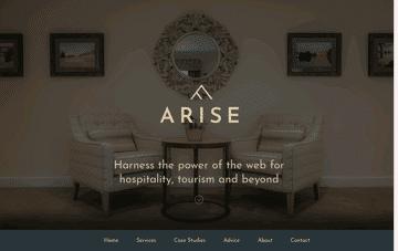 Arise Digital Marketing Agency UK Web Design