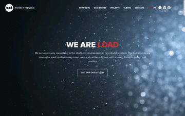 Load Interactive Web Design