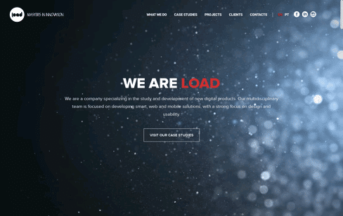 Load Interactive Web Design