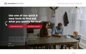 Movement Mortgage Web Design