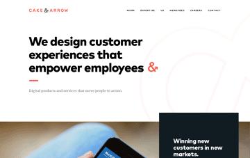 Cake & Arrow Web Design