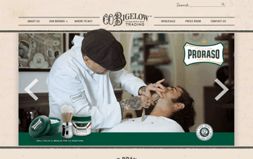 Bigelow Trading Web Design