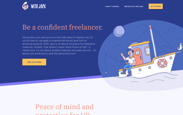 Insurance by Jack. Web Design