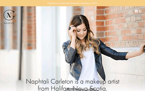 Naphtali Carleton  Web Design