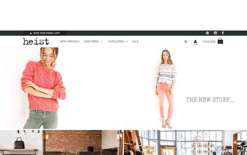 Heist Web Design