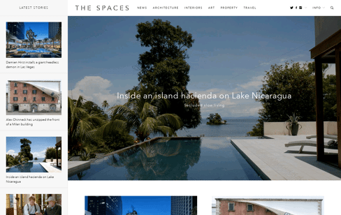 The Spaces Web Design
