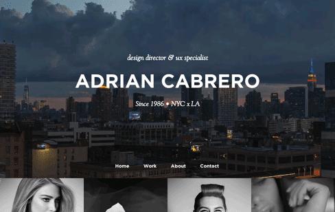 Adrian Cabrero Web Design