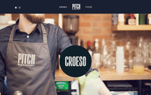 Pitch Cocktail & Restaurant Web Design