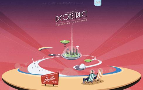 dConstruct 2015 Web Design