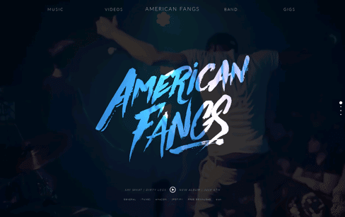 American Fangs Web Design
