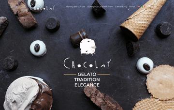 Chocolat Milano Web Design