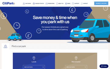 CitiPark Web Design