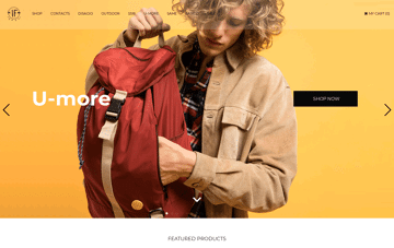 IF Bags Web Design