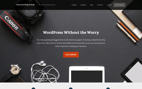 Outstanding Setup Web Design