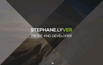Stephane Lyver Web Design
