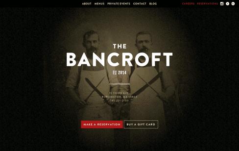 The Bancroft Web Design