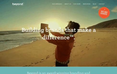 Beyond Creative Design Agency Web Design