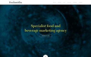 Foodsmiths Web Design