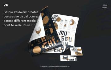 Studio Veldwerk Web Design