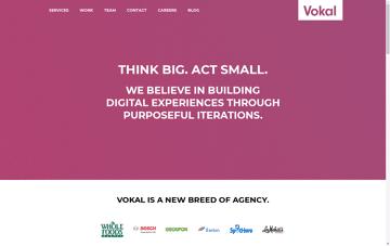Vokal Web Design