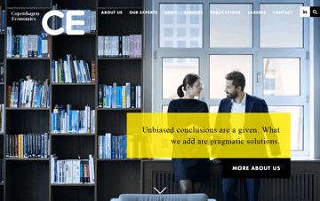 Copenhagen Economics Web Design