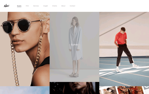 Not Studio | Digital, Design, Fashion, Repeat. Web Design