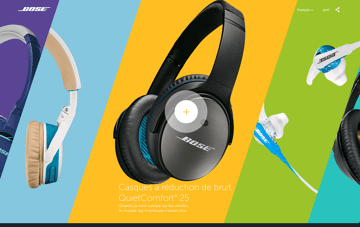 Bose Web Design