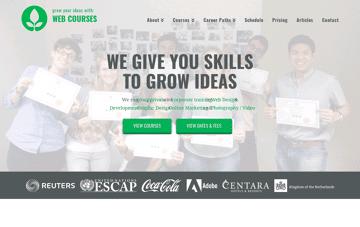 Web Courses Bangkok  Web Design