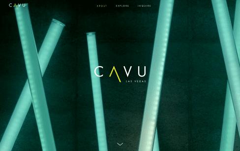 CAVU Las Vegas Web Design