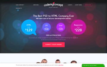 CodeMyConcept Web Design