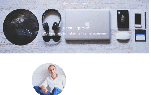 Eugen Figursky  Web Design