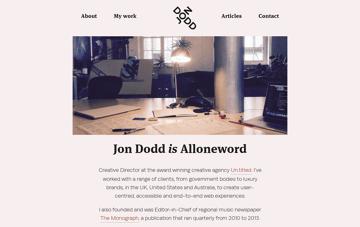 Jon Dodd Web Design