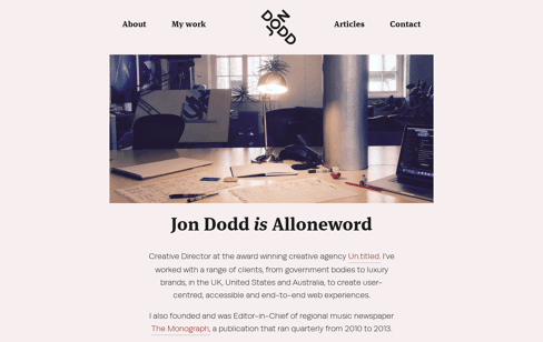 Jon Dodd Web Design