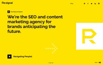 Re:signal Web Design