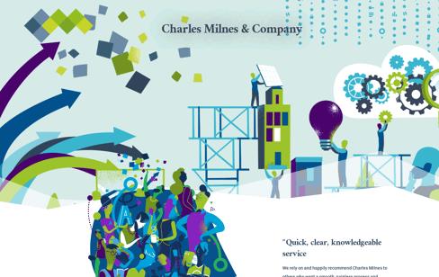 Charles Milnes Web Design
