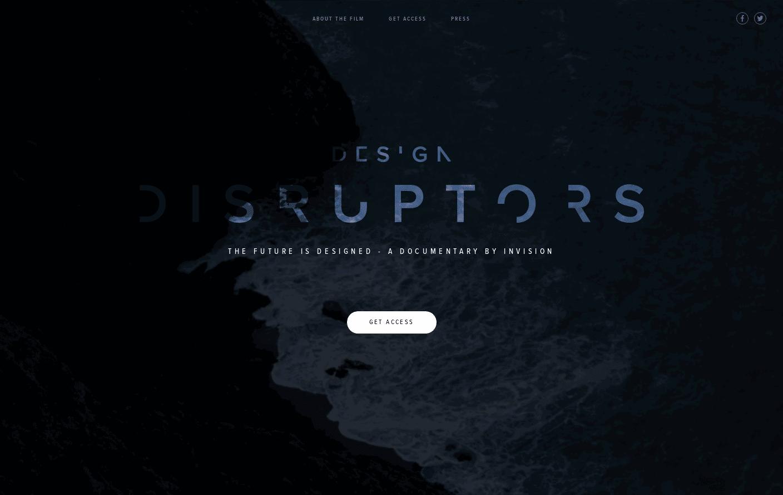 DESIGN DISRUPTORS