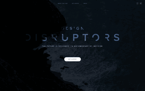 DESIGN DISRUPTORS Web Design