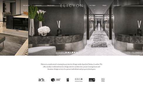 Elicyon  Web Design