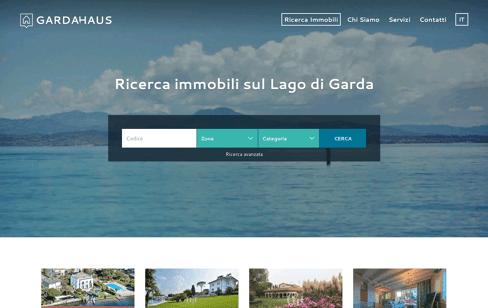 Garda Haus Web Design
