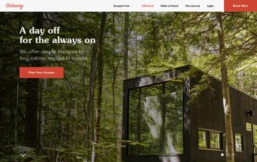 Getaway  Web Design