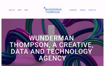 J. Walter Thompson Amsterdam Web Design