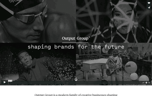Output Group Web Design