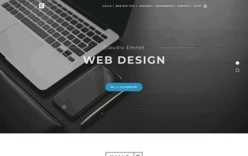 Claudio Emnet Web Design